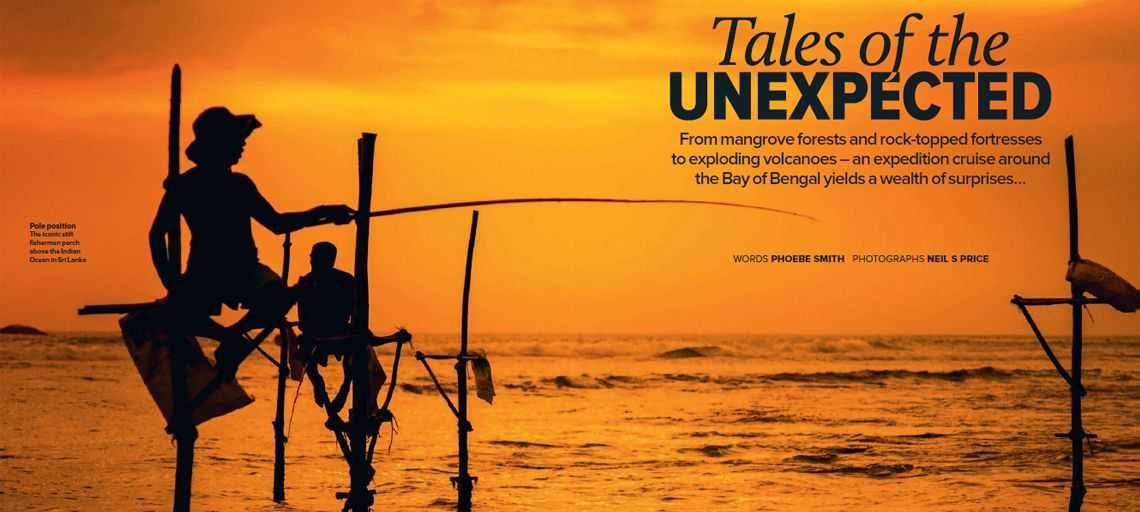 This month's Wanderlust Magazine – Sri Lanka: Bay of Bengal