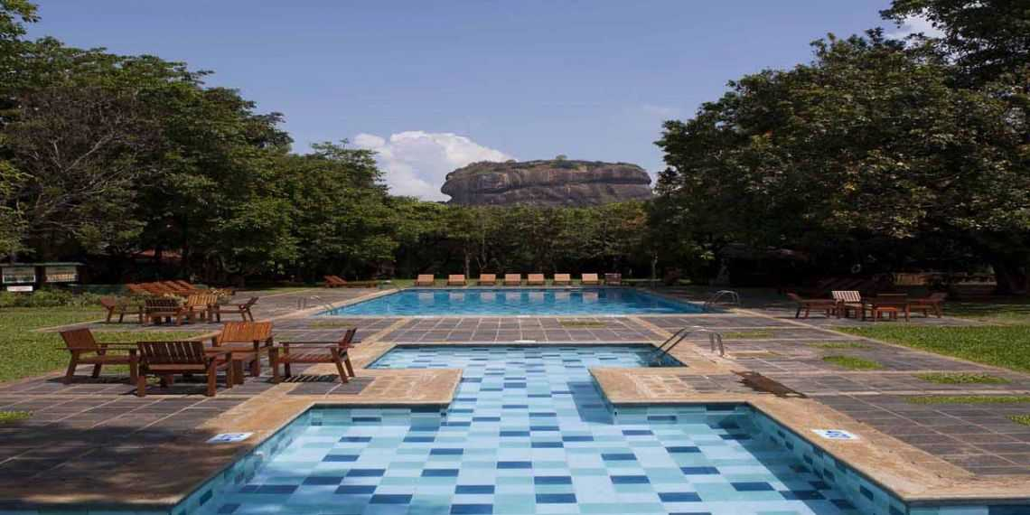 Hotel Sigiriya near Sigiriya Rock Fortress