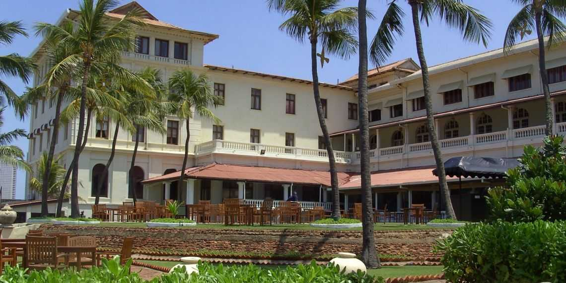 Galle Face Hotel in Colombo