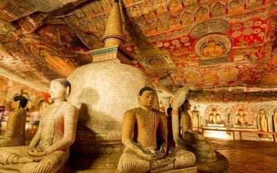 Dambulla Cave Temple Tour